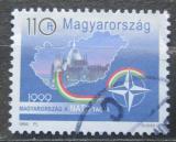 Poštovní známka Maďarsko 1999 Vstup do NATO Mi# 4528