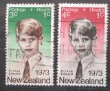 Poštovní známky Nový Zéland 1973 Princ Edward Mi# 611-12