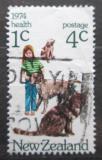 Poštovní známka Nový Zéland 1974 Pes a kočka Mi# 637