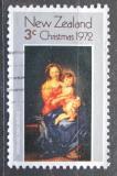 Poštovní známka Nový Zéland 1972 Vánoce, umění, Murillo Mi# 590