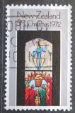Poštovní známka Nový Zéland 1972 Vánoce, umění Mi# 591