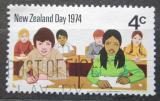 Poštovní známka Nový Zéland 1974 Školní třída Mi# 629