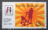 Poštovní známka Nový Zéland 1975 Společnost pro postižené děti Mi# 647