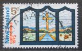 Poštovní známka Nový Zéland 1975 Vánoce, umění Mi# 665