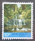Poštovní známka Nový Zéland 1976 Vodopády Purakaunui Mi# 687
