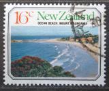Poštovní známka Nový Zéland 1977 Pláž a Mt. Maunganui Mi# 717