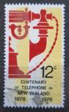 Poštovní známka Nový Zéland 1978 Starý telefon Mi# 738