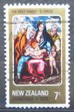 Poštovní známka Nový Zéland 1978 Vánoce, umění, El Greco Mi# 757