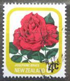 Poštovní známka Nový Zéland 1979 Růže přetisk Mi# 787