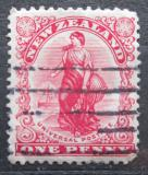 Poštovní známka Nový Zéland 1909 Zealandia Mi# 121