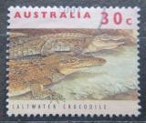 Poštovní známka Austrálie 1994 Krokodýl mořský Mi# 1394 y