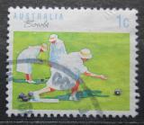 Poštovní známka Austrálie 1989 Bowls Mi# 1139
