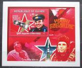 Poštovní známka Guinea 2009 Jurij Gagarin DELUXE Mi# 6708 Block