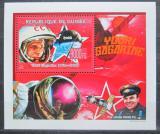 Poštovní známka Guinea 2009 Jurij Gagarin DELUXE Mi# 6707 Block