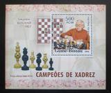 Poštovní známka Guinea-Bissau 2006 Vasilij Smyslov DELUXE Mi# 3457 Block