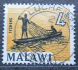 Poštovní známka Malawi 1964 Rybolov Mi#5