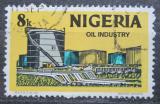 Poštovní známka Nigérie 1973 Ropný průmysl Mi# 278 II Y