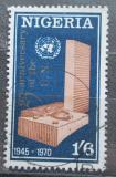 Poštovní známka Nigérie 1970 OSN, 25. výročí Mi# 236