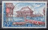 Poštovní známka Dahomey 1960 Tradiční dům na vodě Mi# 172