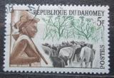 Poštovní známka Dahomey 1963 Pastevec Mi# 202