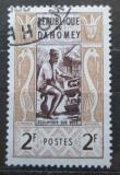 Poštovní známka Dahomey 1961 Řezbář Mi# 179