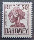 Poštovní známka Dahomey 1941 Hlava sochy, doplatní Mi# 24