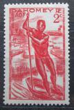 Poštovní známka Dahomey 1941 Jízda na lodi Mi# 125