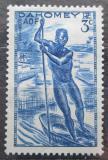 Poštovní známka Dahomey 1941 Jízda na lodi Mi# 126
