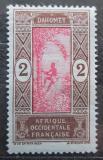 Poštovní známka Dahomey 1913 Sběr palmového oleje Mi# 43