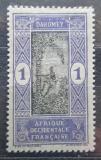 Poštovní známka Dahomey 1913 Sběr palmového oleje Mi# 42