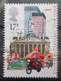 Poštovní známka Velká Británie 1985 Motocykl Mi# 1035 I