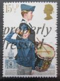 Poštovní známka Velká Británie 1982 Vojenské uniformy Mi# 910