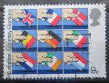 Poštovní známka Velká Británie 1979 Volby do Evropského parlamentu Mi# 789
