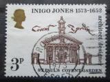 Poštovní známka Velká Británie 1973 Kostel sv. Pavla Mi# 629