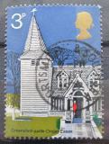 Poštovní známka Velká Británie 1972 Kostel Mi# 597