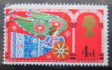 Poštovní známka Velká Británie 1969 Vánoce Mi# 532
