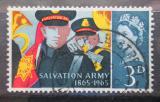Poštovní známka Velká Británie 1965 Armáda spásy Mi# 388