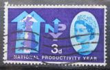 Poštovní známka Velká Británie 1962 Národní produktivita Mi# 352