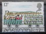 Poštovní známka Velká Británie 1980 Železniční trať Liverpool-Manchester Mi# 832