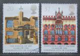 Poštovní známka Velká Británie 1990 Architektura, Glasgow Mi# 1263-64