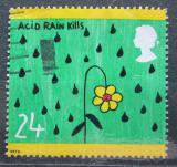 Poštovní známka Velká Británie 1992 Dětská kresba Mi# 1414