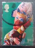 Poštovní známka Velká Británie 2001 Loutka Judy Mi# 1949