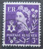 Poštovní známka Severní Irsko 1967 Královna Alžběta II. Mi# 1 y