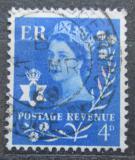 Poštovní známka Severní Irsko 1966 Královna Alžběta II. Mi# 4 x