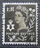 Poštovní známka Severní Irsko 1968 Královna Alžběta II. Mi# 8