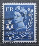Poštovní známka Severní Irsko 1968 Královna Alžběta II. Mi# 9