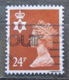 Poštovní známka Severní Irsko 1989 Královna Alžběta II. Mi# 53