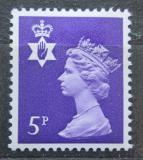 Poštovní známka Severní Irsko 1971 Královna Alžběta II. Mi# 15