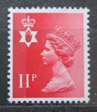 Poštovní známka Severní Irsko 1976 Královna Alžběta II. Mi# 23