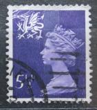 Poštovní známka Wales 1974 Královna Alžběta II. Mi# 17